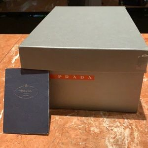 Original Prada box to close a sale but missing box